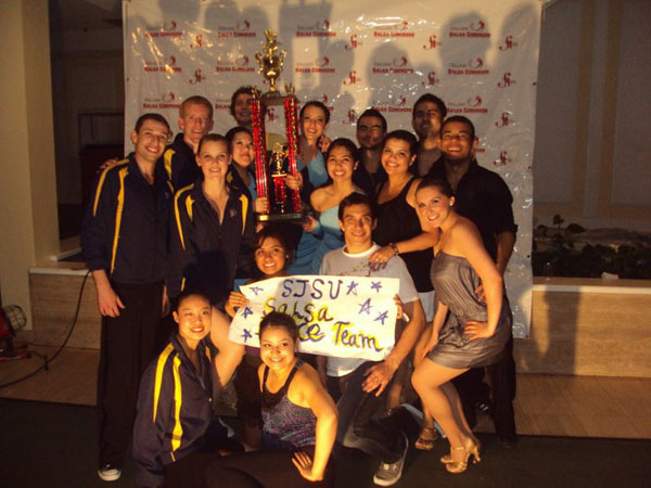Spartan Mambo College Salsa Congress Trophy