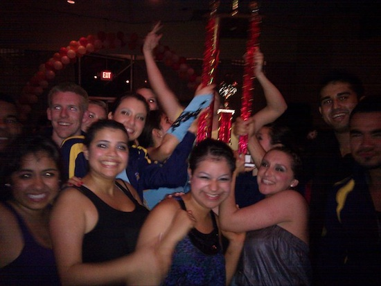 College Salsa Congress Champions Trophy