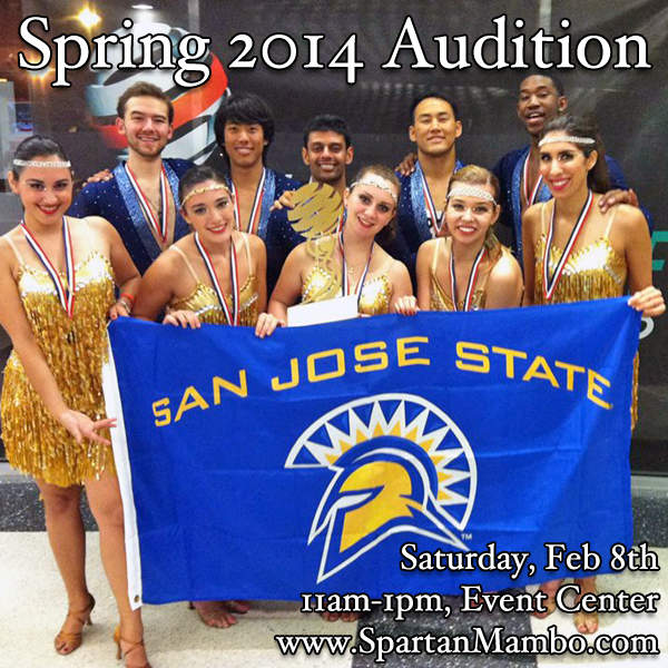 Spartan Mambo Auditions Spring 2014