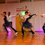 Spartan Mambo Competition Team at College Salsa Congress 2014