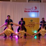 Spartan Mambo Performance Team at College Salsa Congress 2014