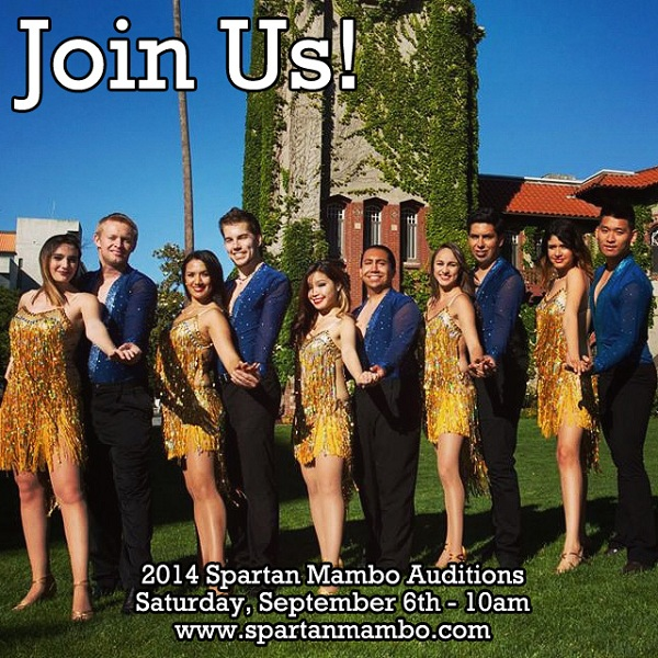 Spartan Mambo Audition Fall 2014