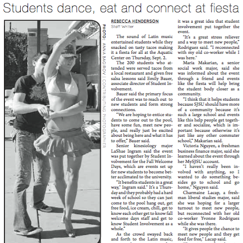 Spartan Daily, September 8, 2010