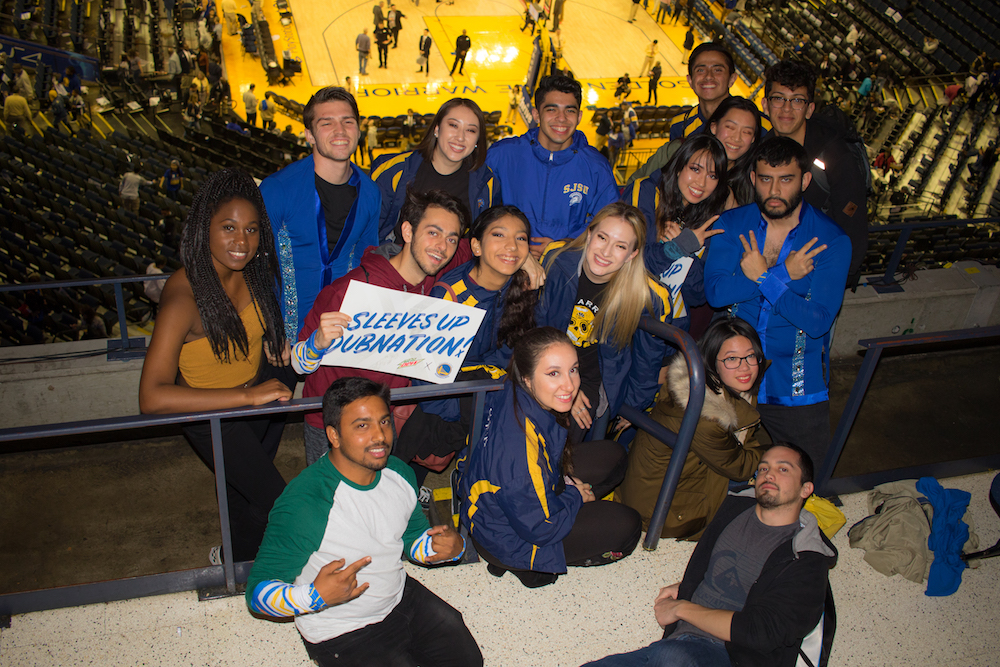 SJSU Salsa Golden State Warriors