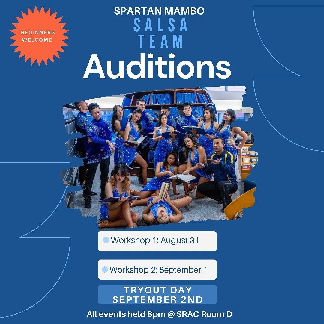 SJSU Spartan Mambo Fall 2021 Audition